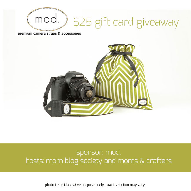 Mod. Camera Straps Giveaway