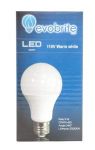 Dimmable LED Light Bulb by EvoBrite
