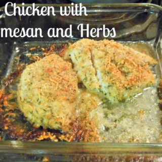 Chicken with Parmesan and Herbs Recipe