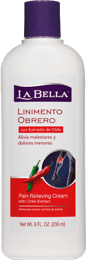 La Bella® Pain Relieving Cream with Chile Extract