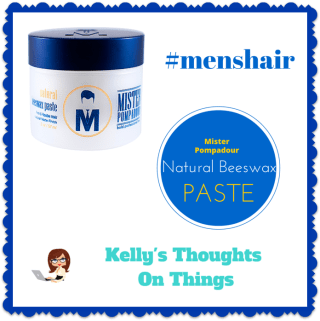 No More Bad Hair Days- Mister Pompadour's Natural Beeswax Paste #menshair