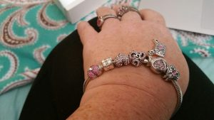 charms and a starter bracelet worth $200