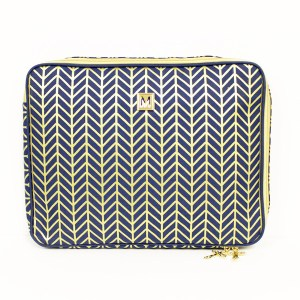 Gold Shimmer Laptop Sleeve Ashley