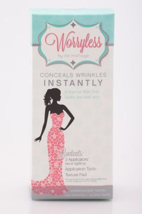 WorryLess: The 1stand Only Cosmetic That Looks Like Real Skin. #giveaway ends 7/31