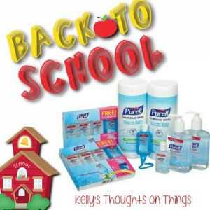 Back to school with Purell!