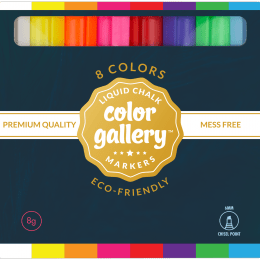 Liquid Chalk Color Gallery Markers