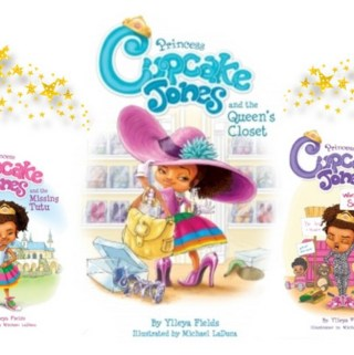 """Back to School """"Show & Tell"""" with Princess Cupcake Jones Storybooks"""