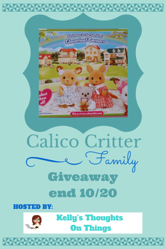 Calico Critter Family Giveaway ends 10/12