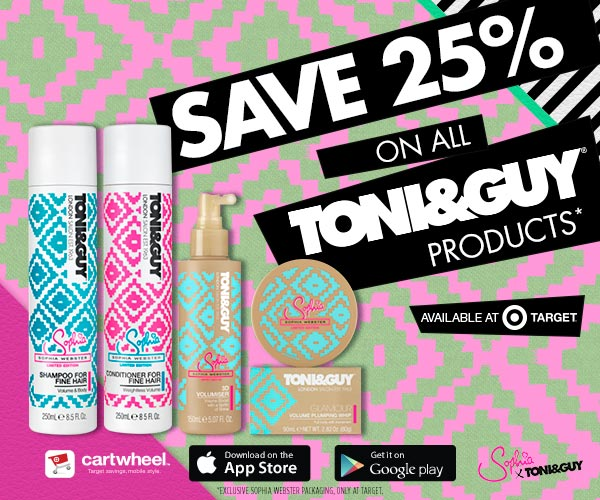 Save Big on Exclusive Toni and Guy Products at Target #ToniGuyGlam