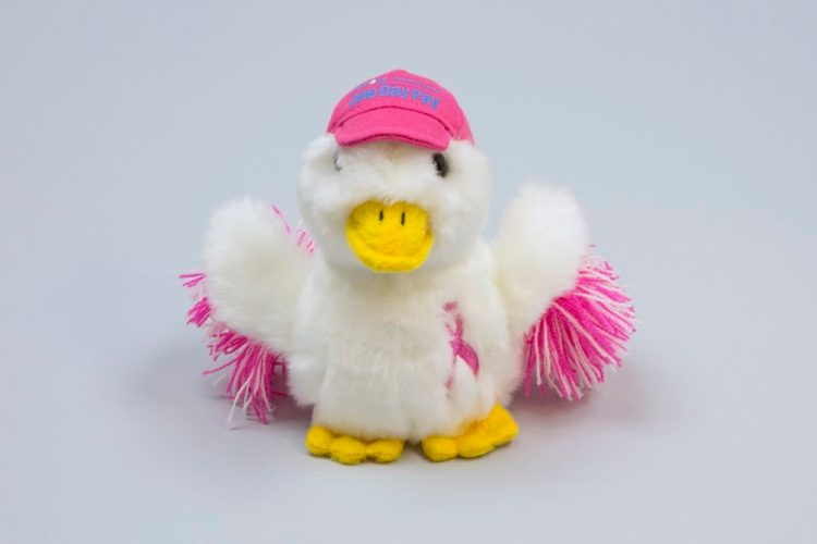 2015 Pink Aflac Duck