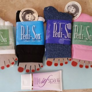 Pamper Your Feet with Pedi-Sox® and SofSpa #pedisox