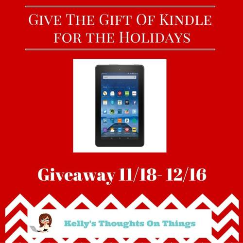 Give The Gift of a Kindle for The Holidays