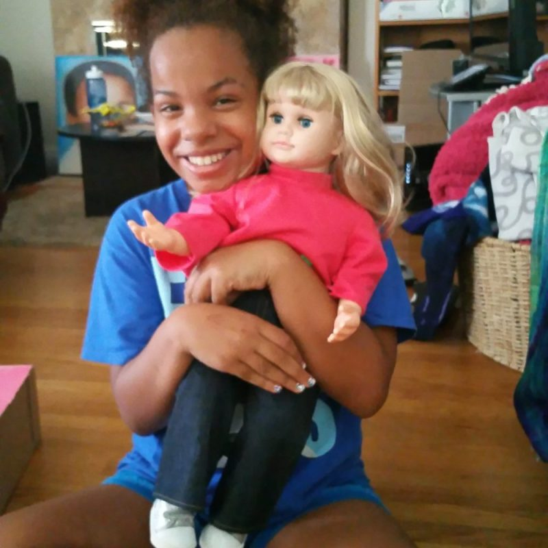Ask Amy™, your child's new favorite doll can virtually come alive t