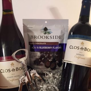 Clos du Bois Wine and BROOKSIDE Dark Chocolate #TalkAboutDelicious #AD