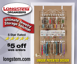 Get Organized with Longstem Jewelry Organizer #ktotgiftguide #giveaway