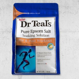 Soothe Muscle Aches With Dr. Teal's Pre & Post Workout Collection