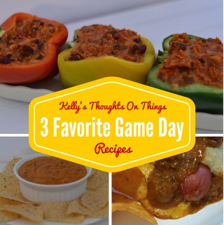 3 Favorite Game Day Recipes  #spon #HormelChiliNation