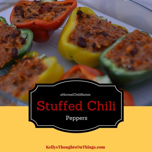 Stuffed Chili Peppers #HormelChiliNation