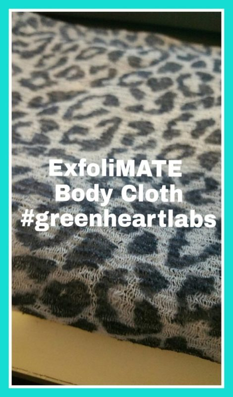 $30 ExfoliMATE | Magic Exfoliating Body Cloth, Soft & Young Skin