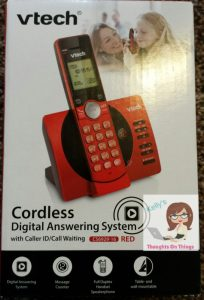 Vtech® Cordless Phone Digital Answering System