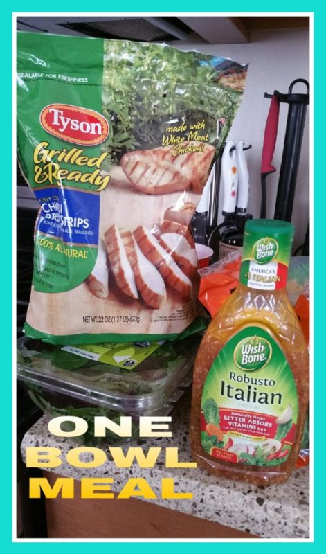 One Bowl Meal with Wish-Bone® and Tyson® at Walmart