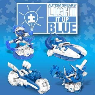SKYLANDERS AND AUTISM SPEAKS PARTNER FOR AUTISM AWARENESS MONTH WITH LIMITED-EDITION SKYLANDERS SUPERCHARGERS TOYS