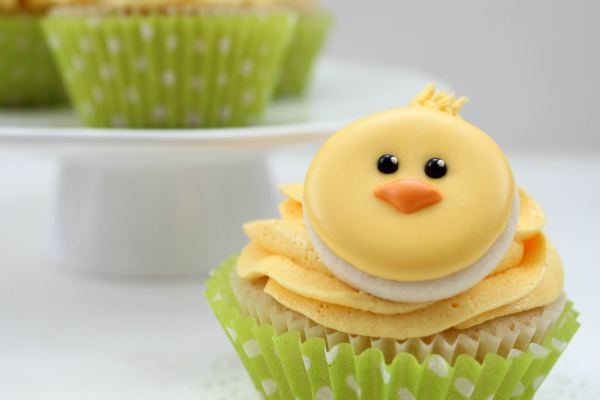 Adorable Cupcakes For Easter Sunday