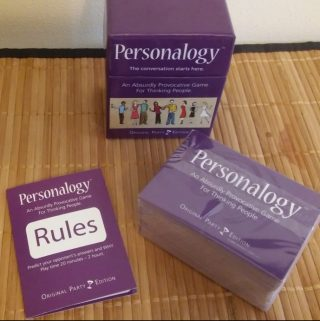 Personalogy- a Game that Breaks the Ice