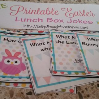 Free Printable: Easter Lunch Box Jokes