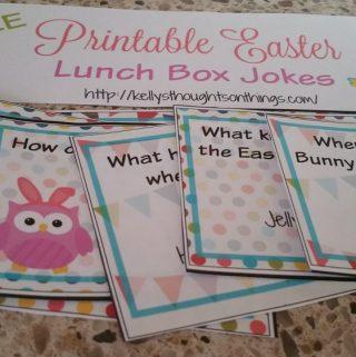 Free Printable: Easter Lunch Box Jokes