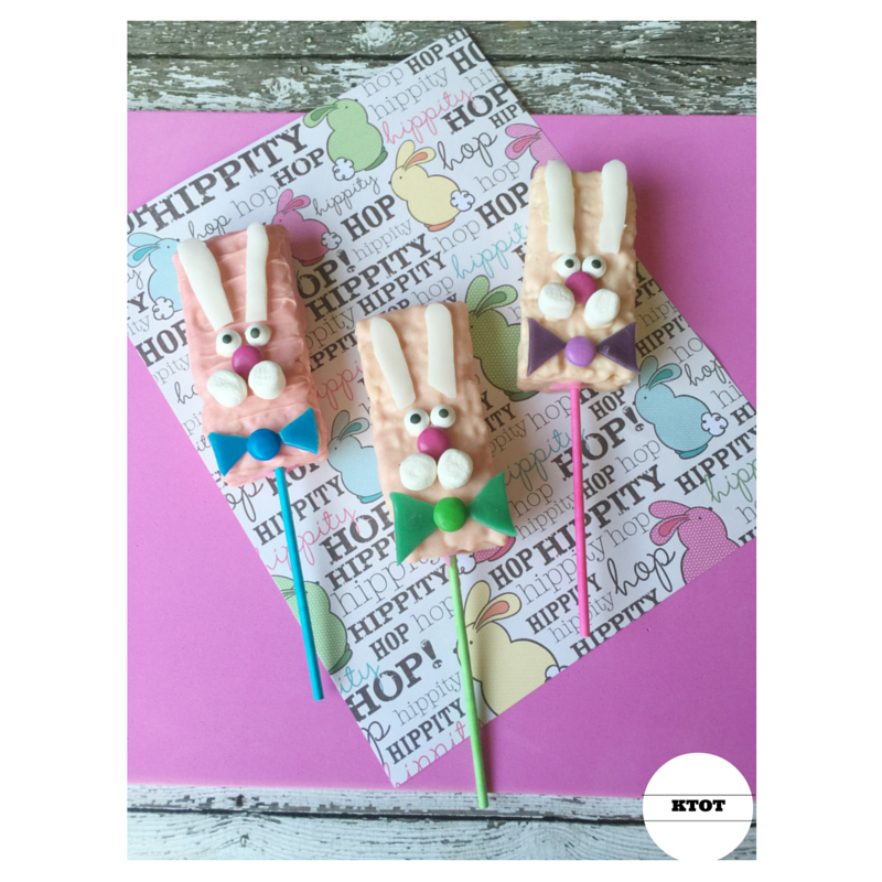 Bunny Rice Krispie Pops Recipe