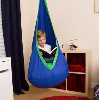 Just Hang Around with Children's Pod Hanging Seat #HarklaFamily
