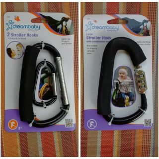 dreambaby Stroller Clips: Keep What you Need Close