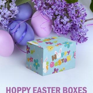 FREE PRINTABLE: Make Your Own Easter Gift Box  #DIY