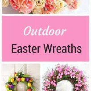 Outdoor Easter Wreaths