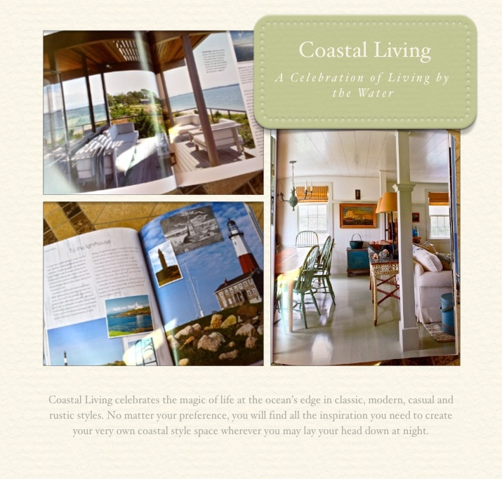Coastal Living: A Celebration of Living by the Water by Henrietta Heald
