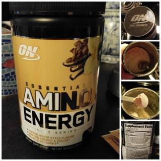Amino Energy Cafe' Series by Optimum Nutrition