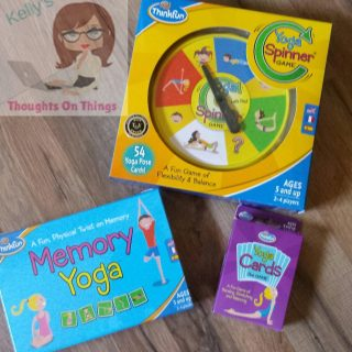 Make Yoga Fun For Kids with ThinkFun Games