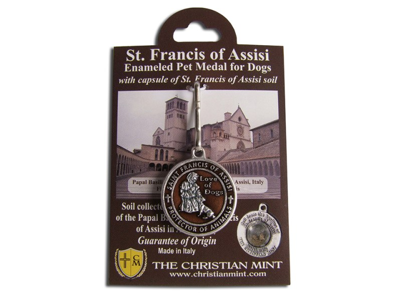 St Francis of Assisi is the Patron Saint of animals.