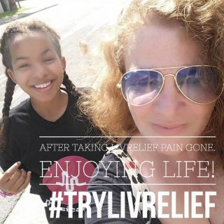 Enjoying Life Without Pain #TryLivRelief