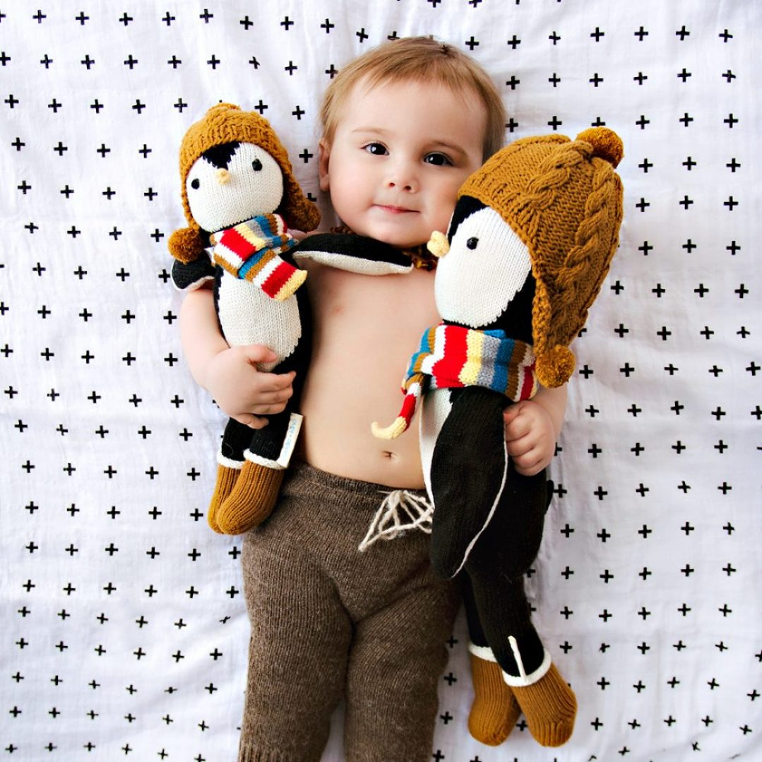 Special Hand-Knit Dolls That Help Feed The Children