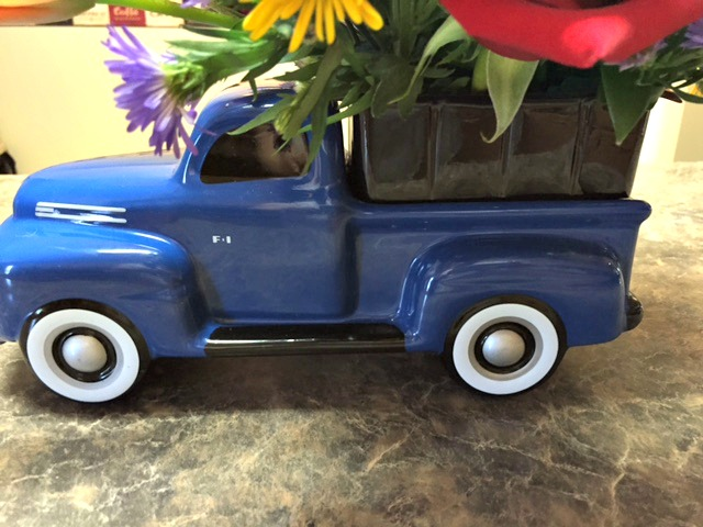 Teleflora's Vintage Ford Pickup Bouquet for Father's Day
