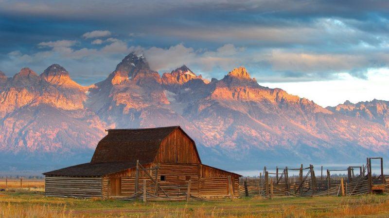 Mormon Barn, Teton National Forest