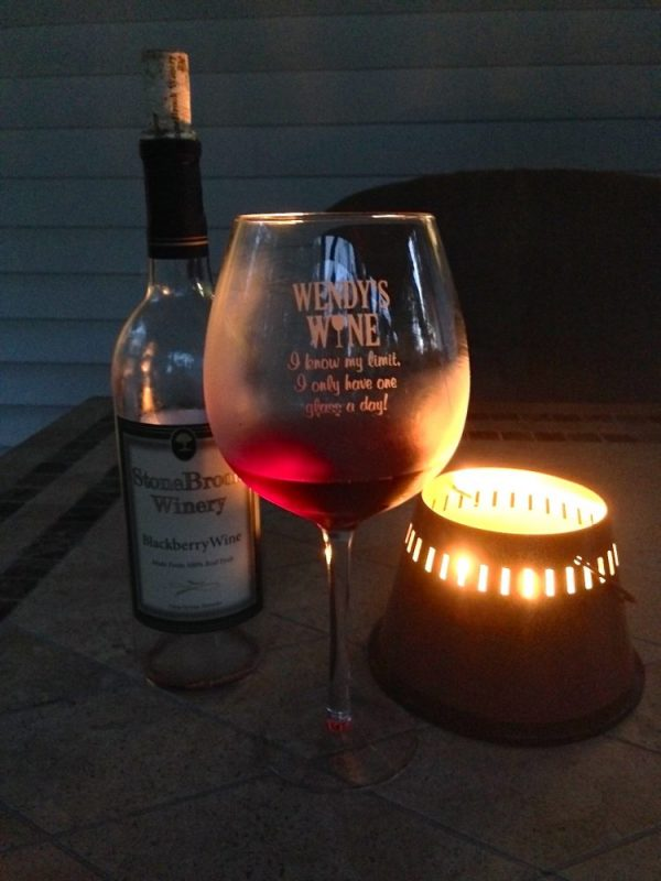 Personal Creations I Know My Limit Wine Glass