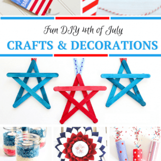 31 Fun 4th of July Crafts & Decorations
