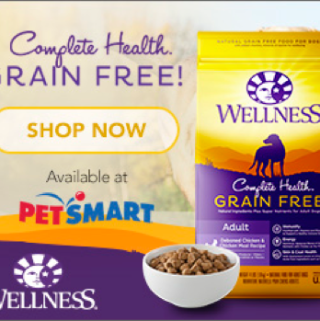 Wellness® Natural Pet Food is our Choice #GrainFreeForMe