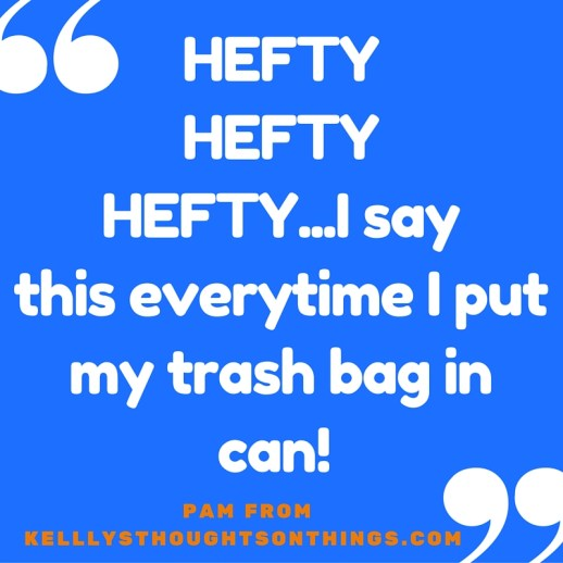 Hefty® Ultra Strong™ trash bags,