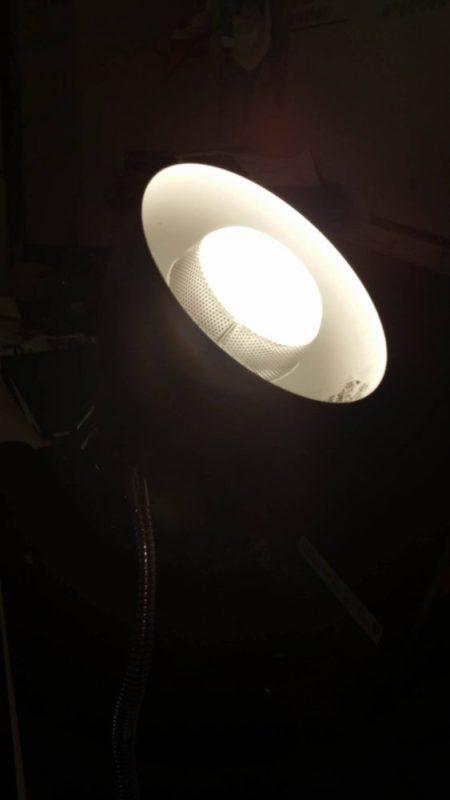 Stereo audio inside an LED bulb