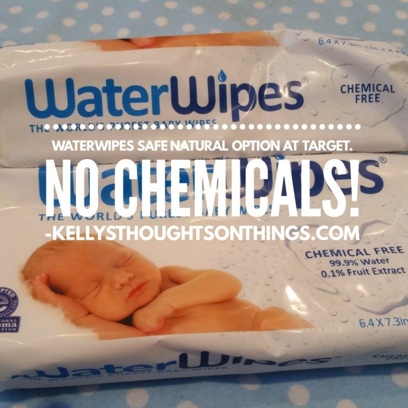 WaterWipes is a chemical free baby wipe that contains only two ingredients,