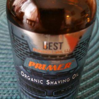 Primer – Organic Shaving Oil for Men  #bestformen
